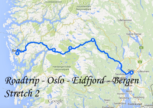 Roadtrip - Oslor to Bergen